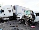 Xe đi đón dâu gặp nạn, 13 người chết: Do tài xế lấn trái, tông trực diện xe tải