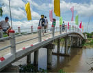 Khánh thành 3 cây cầu dân sinh mới nhân dịp 19/8, 02/9 và Lễ Vu Lan 2018