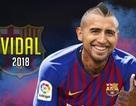 Barcelona chính thức xác nhận sở hữu Arturo Vidal