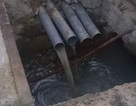 """Phát hiện một dự án cao ốc có 4 ống xả thải """"chui"""""""
