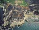 Cháy rừng bất ngờ để lộ thông điệp từ Thế chiến thứ hai