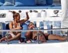 Ronaldo và Jennifer Lopez đi nghỉ trên du thuyền siêu sang