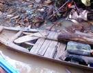 Cụ bà 74 tuổi đi vớt củi bị té sông mất tích