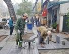 Quận Hoàn Kiếm tiếp tục lát đá vỉa hè bền 70 năm