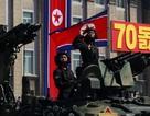 """Sự """"vắng bóng"""" khác thường của tên lửa uy lực trong lễ duyệt binh Triều Tiên"""