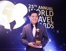 """Việt Nam có hai đại diện đạt giải WTA, """"Oscar"""" của ngành du lịch thế giới"""