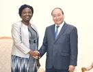 Thủ tướng tiếp Phó Chủ tịch Ngân hàng Thế giới dự WEF ASEAN tại Việt Nam