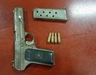 Bắt nghi phạm vụ dùng súng giải quyết mâu thuẫn trước cổng bến xe Mỹ Đình