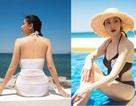 """Hoa hậu """"không tuổi"""" Hà Kiều Anh tự tin khoe dáng với bikini"""