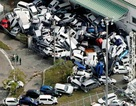 Ngành ô tô Nhật Bản tính toán thiệt hại sau siêu bão Jebi và động đất