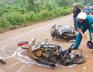 Nữ giáo viên tử vong sau cú va chạm mạnh giữa hai xe máy