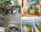 Tai nạn thảm khốc và bức hình chân dung liệt sĩ trong hố chôn tập thể