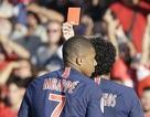 Mbappe bị đuổi, PSG giành chiến thắng trong cơn mưa bàn thắng