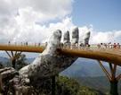Cầu Vàng ở Đà Nẵng lọt top ảnh đẹp nhất trong tháng