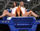 Dàn người mẫu gợi cảm tại triển lãm ô tô lớn nhất nước Nga