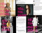 """Phát hiện bất ngờ: Hàng loạt mỹ nhân showbiz Việt cùng dính """"bùa"""" Yêu. Tin. Hành động"""