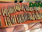 Một phụ nữ giao nộp 85 viên đạn phát hiện trong lúc làm vườn