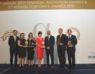 """Vietcombank tiếp tục nhận giải thưởng """"Ngân hàng tốt nhất Việt Nam"""" năm 2018"""