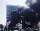 Trung tâm thương mại cao nhất thành phố Yên Bái bốc cháy dữ dội