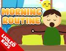 Tiếng Anh trẻ em: Học từ vựng chủ đề thói quen buổi sáng