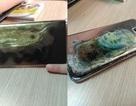 Smartphone Galaxy S7 Edge bất ngờ bị ngưng hoạt động rồi bốc cháy