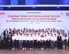 """""""Học bổng Dạy nghề Toyota"""" - chắp cánh ước mơ cho sinh viên nghèo"""