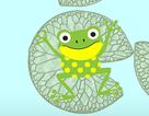"""Toán tương tác: Đáp án bài """"Chú ếch con nhảy lá"""" thú vị"""