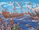 Cậu bé 13 tuổi mở triển lãm tranh về 10 trận chiến nổi tiếng thế giới