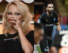 Pamela Anderson đi xem bạn trai kém 20 tuổi đá bóng