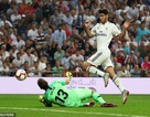Real Madrid bất phân thắng bại với Atletico tại Bernabeu