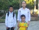Niềm vui ngày tựu trường của 4 chị em mồ côi bố, mẹ ung thư giai đoạn cuối