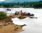 Nhiều bến, bãi tập kết cát sỏi không phép ngang nhiên hoạt động tại Nghệ An