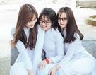 3 nữ sinh Lâm Đồng mặc áo dài trắng khiến dân mạng xao xuyến