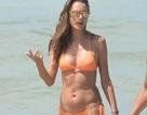 Alessandra Ambrosio đón năm mới bên bãi biển quê nhà