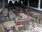 Rượt đuổi xe chở gỗ lậu như phim hành động