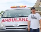 Bỏ tiền túi mua xe cứu thương phục vụ bệnh nhân nghèo