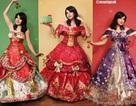 Những chiếc váy đẹp như trong cổ tích được tạo ra từ giấy gói quà