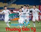 Chiến thắng lịch sử, U23 Việt Nam nhận tiền thưởng khủng từ các nhà mạng