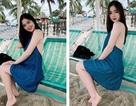 Hot girl Đà Nẵng xinh đẹp, giỏi cờ tướng thả dáng bên bờ biển