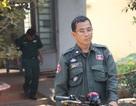 Một cảnh sát Campuchia bị bắt vì đưa pháo lậu vào Việt Nam