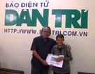 Trao hơn 57 triệu đồng đến gia đình cụ Nguyễn Thị Bé