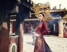 """Chiêm ngưỡng quốc phục đúc vàng """"khủng"""" của nhan sắc Việt tại Miss Intercontinental"""
