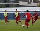 Đội tuyển Việt Nam rèn thể lực chuẩn bị cho cuộc đấu với Jordan