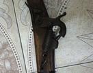 Bắt nghi phạm dùng súng tự chế cướp ngân hàng