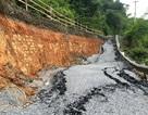 Sụt lún trên quốc lộ gây thiệt hại 580 triệu, dự kiến 2,5 tỷ đồng khắc phục!