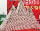 """Choáng ngợp """"núi tiền"""" công ty Trung Quốc thưởng tết cho nhân viên"""