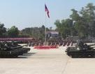 Lào phô diễn vũ khí mới sau khi trả lại xe tăng huyền thoại T-34 cho Nga