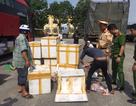 Đà Nẵng: Bắt giữ xe chở gần 800 kg thịt heo không rõ nguồn gốc