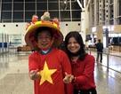 Hàng trăm CĐV rời Hà Nội sang UAE cổ vũ trận tứ kết Việt Nam - Nhật Bản