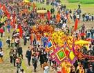Ngóng lễ rước nước tại Lễ hội Tản Viên Sơn Thánh